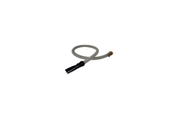 MP/018 Lancia ad ugello piatto per fugatura in estrusione completa di tubo da Ø 20